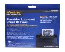 Aleratec Introduces Environmentally Friendly Lubricant Sheets for Paper Shredders