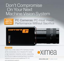 XIMEA White Paper Asks Manufacturers: What Would You Do With the Power of a PC and PLC in an Industrial Camera?
