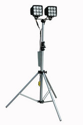 Magnalight Introduces Lightweight, High Powered Portable LED Light Tower