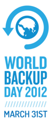 World Backup Day - March 31st Announces Massive Sweepstakes and Official Sponsors for 2012