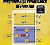 Analog Devices Introduces High-Performance Analog Front End for 900 MHz Band RF Applications :  The single-chip ADF9010 combines a leading edge I/Q modulator with a low noise synthesizer, including on-chip VCO, without compromising the performance of individual RF blocks; significantly lowers system costs and greatly reduces time-to-market