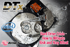 DTx Inc. Partners With Experts From Intel NVM Solutions Group and Avnet to Guide OEMs in Current Hard Drive Crisis
