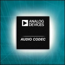 Analog Devices' Audio Codecs Offer the Industry's Best Audio Experience, Lowest Power Dissipation :  - ADI's ADAU1361 low-power stereo audio codec leads the industry in audio performance at lowest dissipated power, while the ADAU1761 adds support for ADI's audio algorithm suite or licensed third party algorithms.