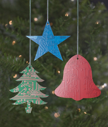 Techie Tree Ornaments Introduced for the Holidays