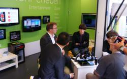 Kupa Showed Off X11, Its Pen + Touch Tablet Computer At The Ifa Consumer Electronics Trade Show In Berlin, Germany