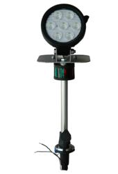 Magnalight.com Announces the Release of a Perko Pole Mount LED Spotlight For Boats