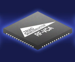 Worlds First Via Configurable RF Receiver Introduced by Triad Semi and Kaben Wireless