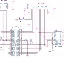 Interfacing ATmega32 with an LCD and a DAC