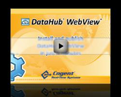 Live Web-Based HMI Pages in 5 Minutes using DataHub WebView