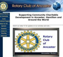 Ancaster Rotary Implements Innovative StrandVision Digital Signage Installation – No Sign