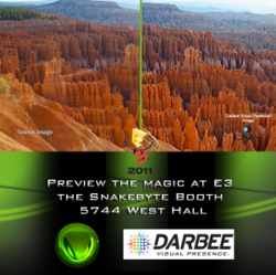 View the Next Frontier with DarbeeVision and Snakebyte at E3