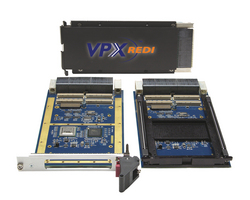 New VPX Carrier Cards for PMC or XMC Modules Feature a High-Speed PCI Express Interface