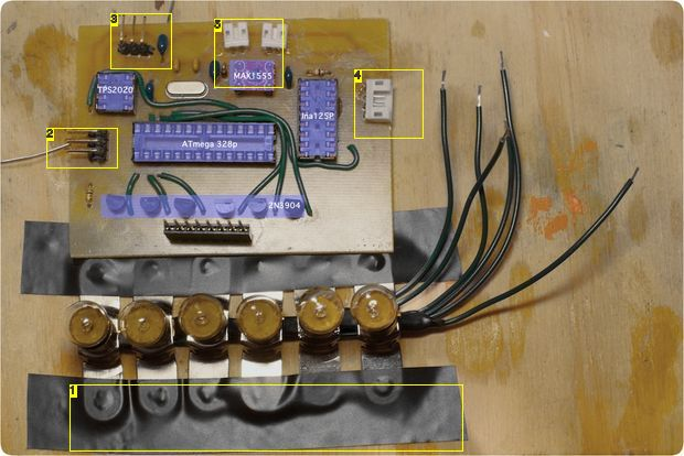 Vintage Toothbrush Timer using ATMega328p