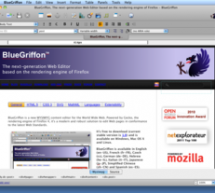BlueGriffon 1.0 Released – HTML5/CSS3/SVG/MathML WYSIWYG Open Source Editor Now Available at BlueGriffon.org