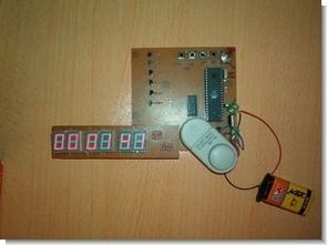 89C517 Segment Display using the Digital Time