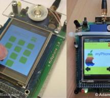 AVR Based Mobile Phone using AVR ATmega128A microcontroller