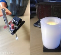 AVR LED Candle using ATtiny85 microcontroller