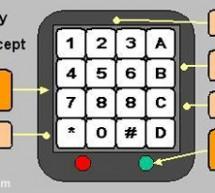 AVR Security Keypad Lock using ATtiny2313 microcontroller