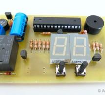 AVR Switch Timer using ATmega8 Microcontroller