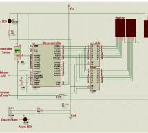 Advance Fire Alarm through Mobile Phone using microcontroller