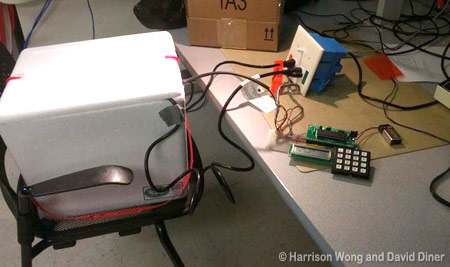 Auto Sensing Sous-Vide Cooker using AVR microcontroller