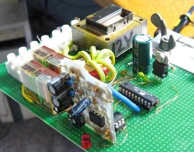 Beamer Control using attiny2313 microcontroller