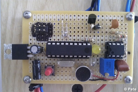 Clever Clapper using ATtiny2313 microcontroller