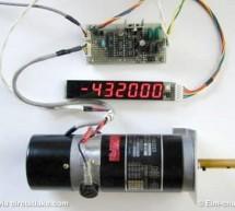 DC Servomotor Controller System Meter using ATtiny2313 microcontroller