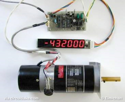 DC Servomotor Controller System Meter using ATtiny2313 microcontroller