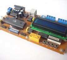 89Sxx Development Board using microcontroller