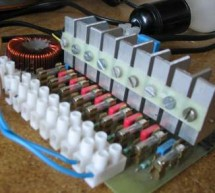 Dimmer using ATTiny2313 microcontroller