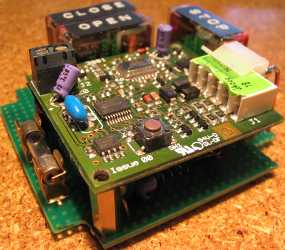 Door Opener using ATTiny2313 microcontroller