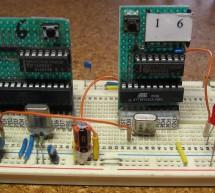 Easy Breadboarding using ATMega microcontroller