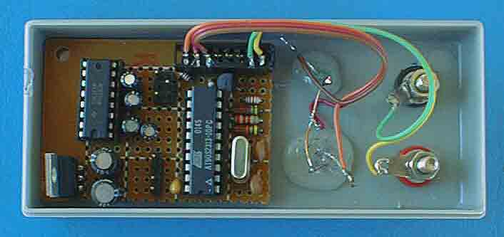 Analog audio panel for PC using ATMega328 microcontroller