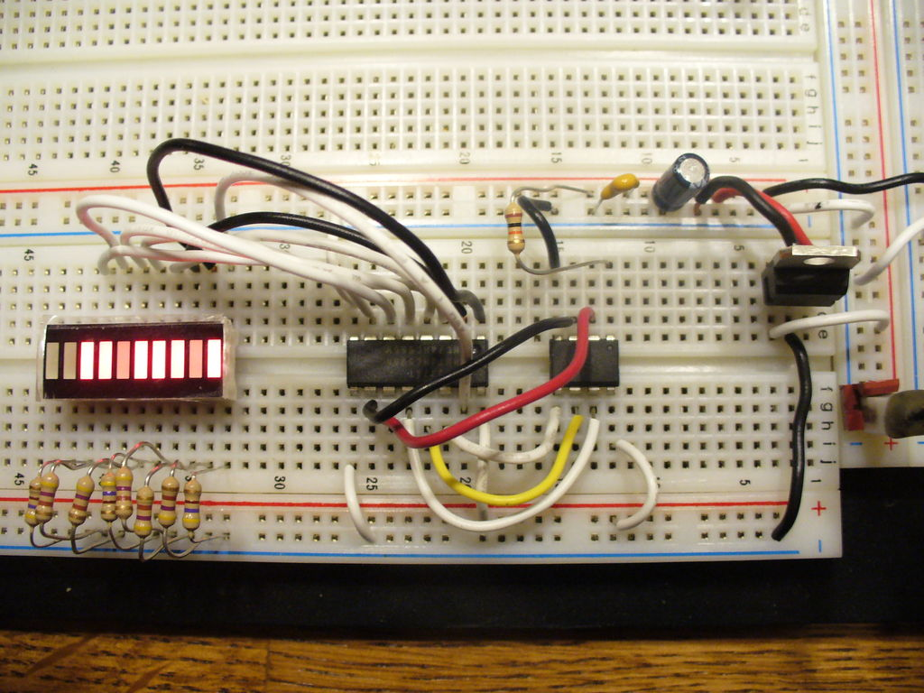Hook it up on the breadboard