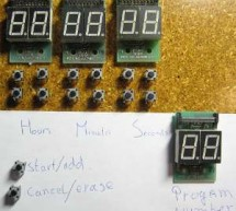 Kitchen Timer using ATTiny2313 microcontroller
