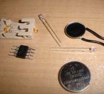 Blinking, Singing, Marioman using Attiny microcontrollers