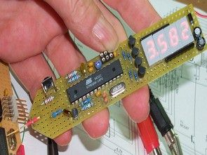 Multimeter with Atmel ATMEGA8