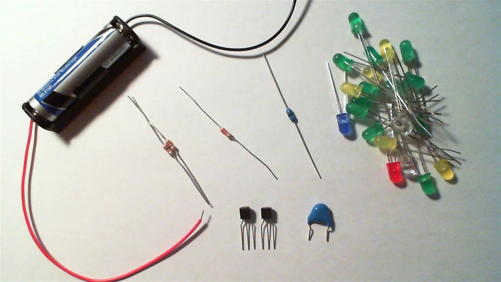 The simple joule thief using AVR microcontrollers