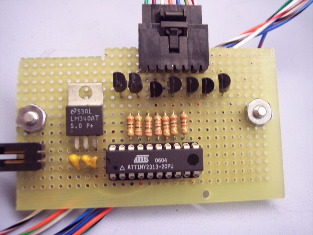 Control Anything with one AVR pin using Attiny2313 microcontroller