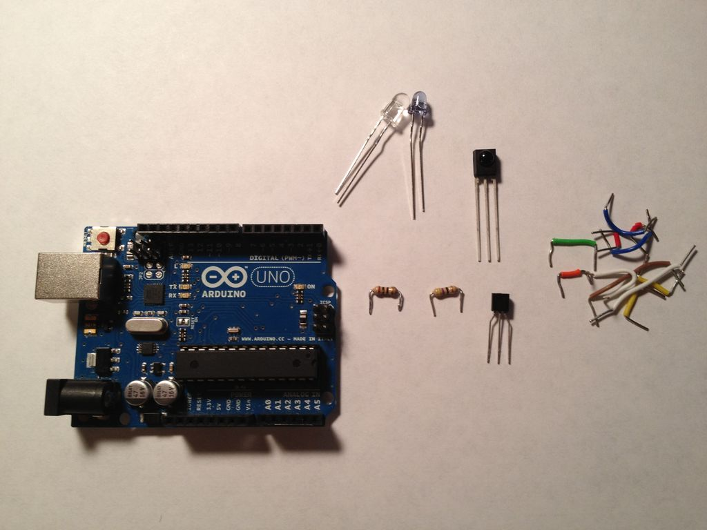 $1.50 Arduino TV Annoyer!! (Turns TVs on when you want them off) using microcontroller