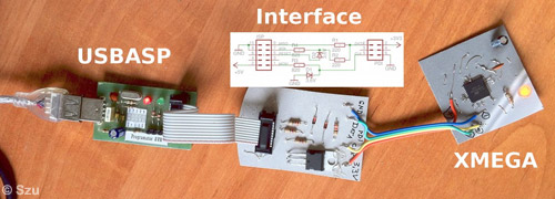 Programming AVR ATxMega using USBasp and ATxmega microcontroller