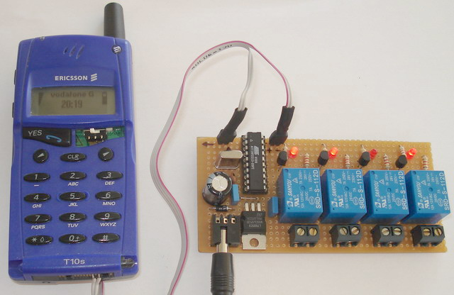 10 Bit analog to digital converter using ATtiny26 microcontroller