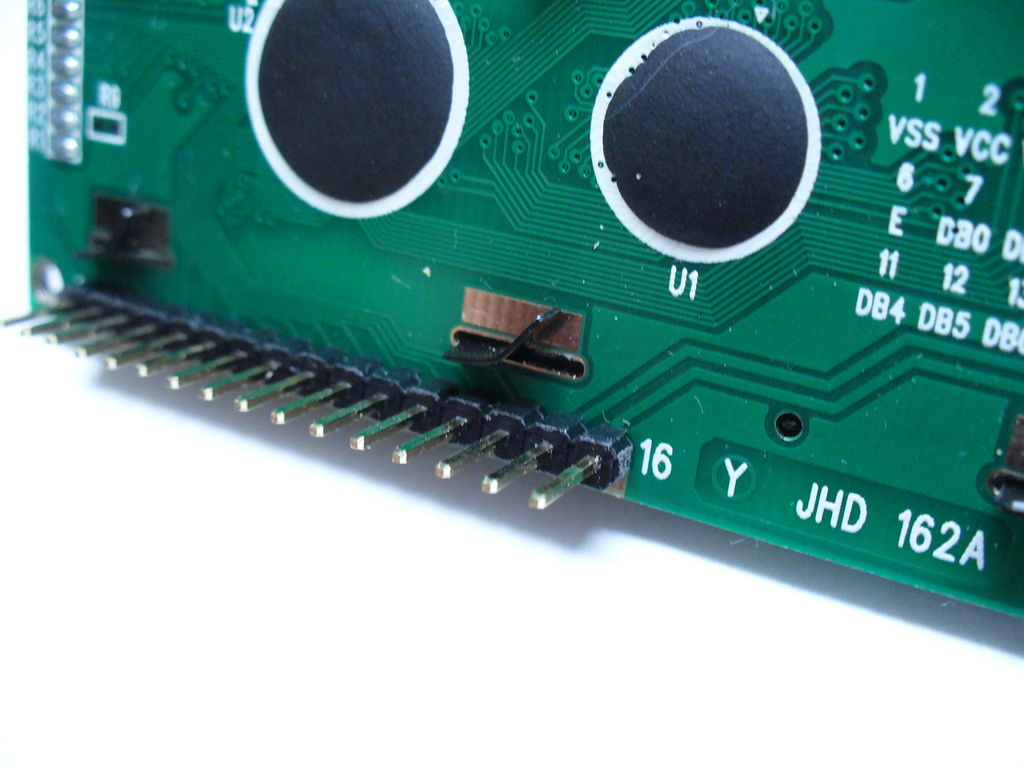 How to control a 16x2 LCD using an AVR ATtiny2313