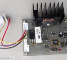 Simple Automatic Battery Discharge Analyzer using ATmega48 microcontroller