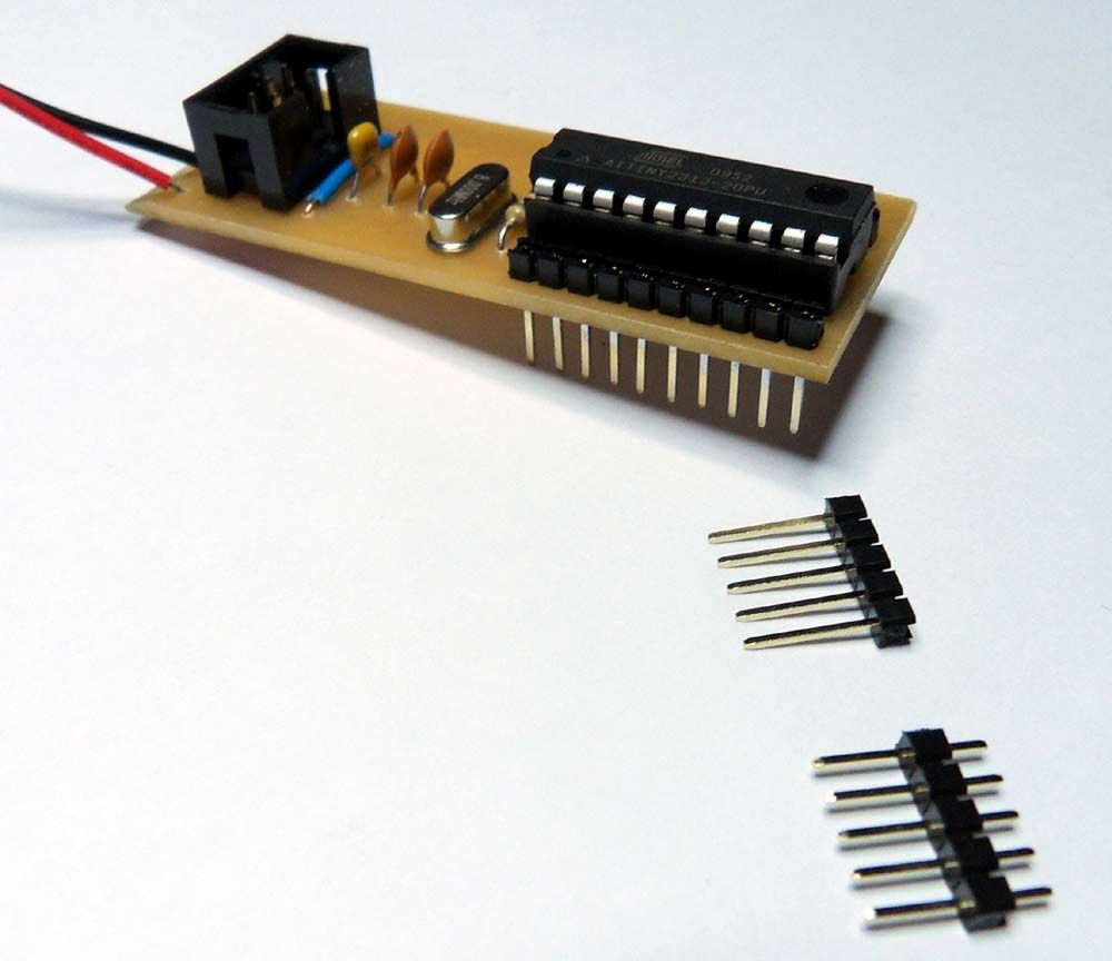 Solder the parts to the board
