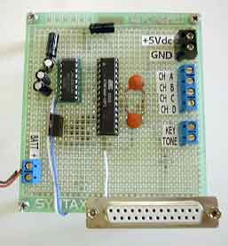 Digital Telemetry using ATMega8 microcontroller