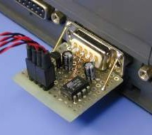 PC Temperature Meter using ATtiny15 microcontroller