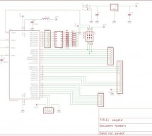 Development Board With LCD using Atmega16 microcontrollers