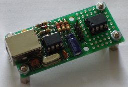 The final hardware with the same sensor added